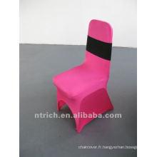 couverture de chaise de spandex, CTS751, adapté pour toutes les chaises. La présidence de la couverture de l'usine.