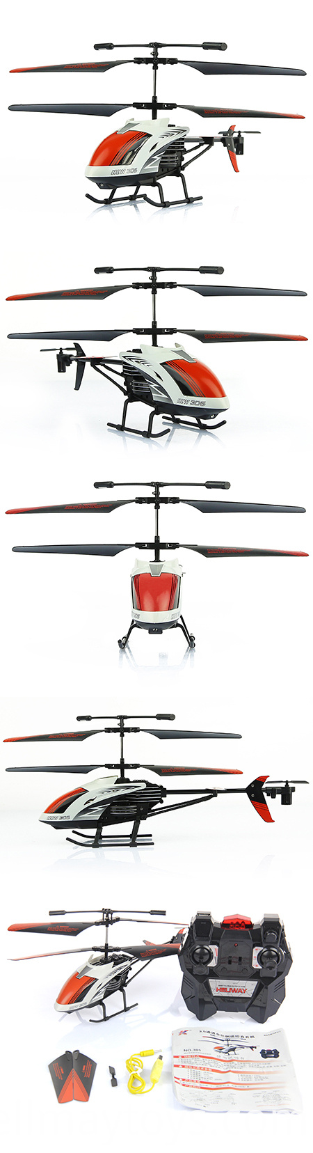 Alloy RC Helicopter