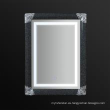 Jnh273-B 2016 Espejo elegante moderno del cuarto de baño enmarcado con el LED