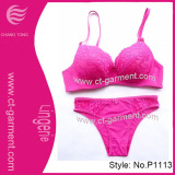 Hot Lace New Design Fashion Bra Set (P1113)