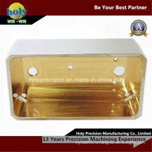 CNC латунные подвергая механической обработке CNC рамки для электрических компонентов, используемых