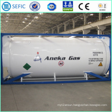 LNG Lco2 Lin Lar Cryogenic Tank Container (SEFIC-T75)