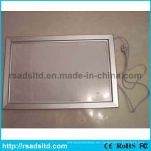 Caja de luz LED más delgada del marco del cartel más barato