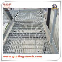 Grade de aço galvanizado / grade de barra de metal para plataforma