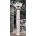 Roman Column with Stone Marble Granite Sandstone (QCM118)