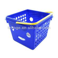 molde de injeção plástica da cesta de mão