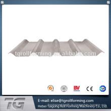 Einfache Bestellvorgang TR 45-250 Trapezdach- und Wandrollenformmaschine verarbeitet durch CNC-Drehmaschine