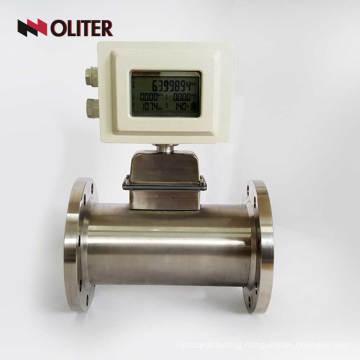 battery powered Butane Propane mass air natural gas flow meter sensor