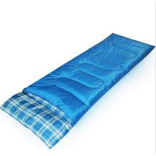 Sac de couchage bleu ultra-léger en gros, sacs de couchage pour adultes