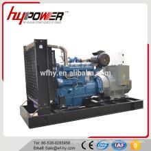340KW Generator Angetrieben durch Wudong Motor