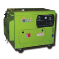 Househould Diesel Generator with brush, 5.5kw. Portable Type.