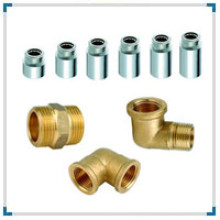 Brass Forged Nipple Pipe Fittings