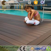 outdoor wood plastic composite floor co-extrusion wpc