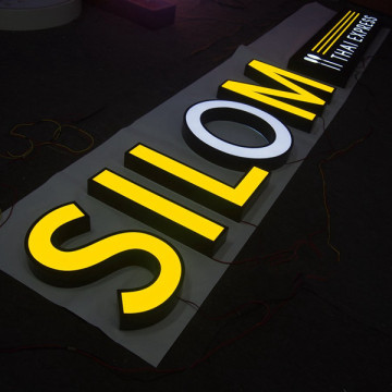 LED Channel Letter Signs extérieur