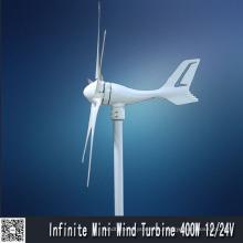 Bajo 400W a partir par molino de viento generador (MINI 400W)