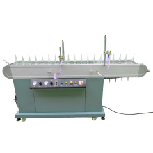 High Speed Flame Treatment Machine on Flat Cylindrical Objects