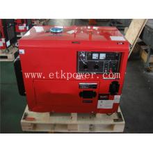 Grupo electrógeno diésel Protable refrigerado por aire de 2 a 5 kW
