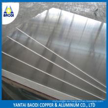 1 Serie 1050, 1060, 1100, 1200 Panel de aluminio para construcción / decoración / productos electrónicos con precio de fábrica