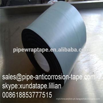 Fita não adesiva do pvc da espessura de 0.635mm para a tubulação enterrada