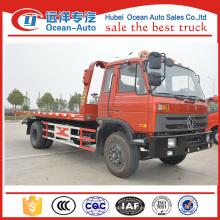 Dongfeng nuevo estado 8ton camiones grúa de remolque en venta