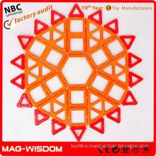 MAG-WISDOM 75шт. Соединительные кирпичные игрушки