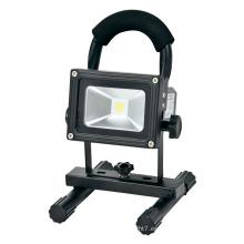 Luz de inundación portátil del LED Reflector recargable de AC85-265V 10W LED