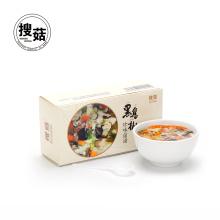Sopa de hongos vegetales mixta instantánea concentrada