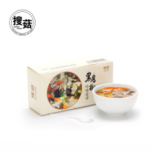 Concentrated instant mixed vegetable mushroom soup