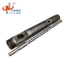 HDPE/LDPE blowing film single extrusion screw barrel