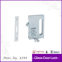 keyed sliding glass door lock single