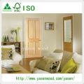 Radiate Pine 4 Panel Nterior Wooden Door