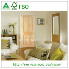Radiate Pine 4 Panel Nterior Wooden Door