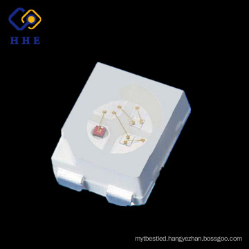 super bright smd top type led 3528 rgb plcc4 with lens datasheets