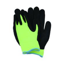 7g Acryl Liner Handschuh Latex beschichtet mit PVC DOT