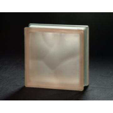 190 * 190 * 80mm Acid Pink Bewölkter Glasblock mit AS / NZS2208: 1996