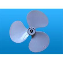 Injection Moulded Plastic Parts Pump Three Plastic Fan Blad