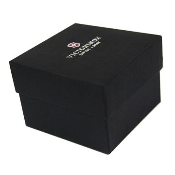 Square Black Elegant Gift Box untuk Mens Belt