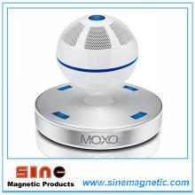 Mini Levantamiento Magnético Bluetooth Altavoz / Audio (Blanco)