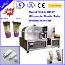 CE approved ultrasonic plastic toothpaste tube sealing machine