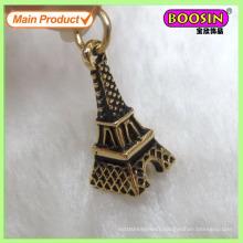 Special Design Alloy 3D Vintage Paris Effiel Tower Charm Jewelry