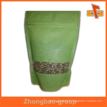 Rice paper stand up bag packaging for food custom printed rice pouches