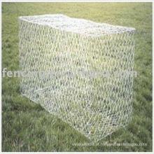 rede de arame galvanizada da caixa de Gabion