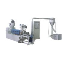 Machine de compoundage de recyclage en plastique à refroidissement par vent