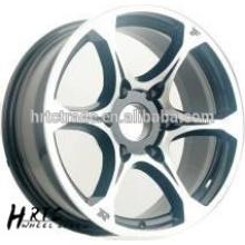 HRTC Jantes en alliage d'aluminium répliques de 17 pouces pour Honda