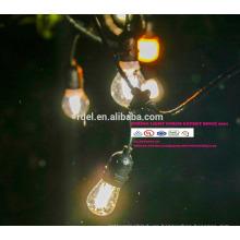 cuerdas de iluminación impermeable al aire libre de vacaciones E14 E27 48FT SLT-199