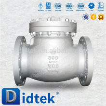 Trade Assurance Standard single swing ss316l check valve