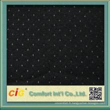 Tissu de maille de tapisserie d'ameublement de polyester de vente chaude