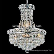 Luxury k9 crystal chandeliers pendant light fixtures for indian restaurant decoration 71058