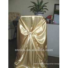 binden Sie Stuhl zurück Abdeckung, CT451 satin Stuhlabdeckung, universelle Stuhlabdeckung