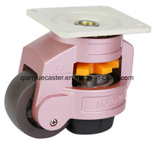 Leveling Adjustment Caster with Support Frame Powder